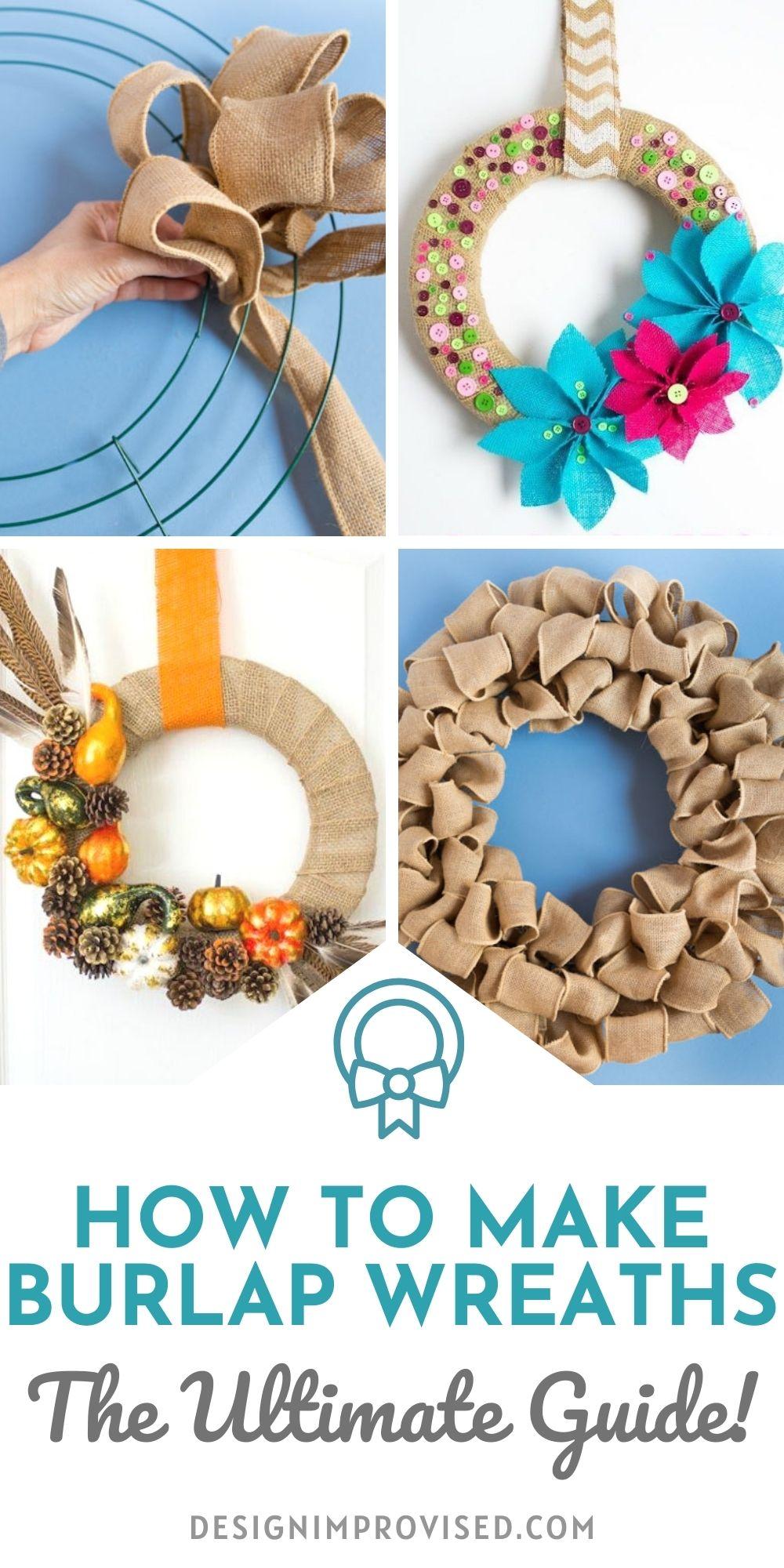 Diy Burlap Wreaths The Ultimate Guide Design Improvised